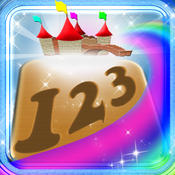 123 Learn Numbers Magical Kingdom - Jumping Numbers Learning Experience Counting Game point numbers