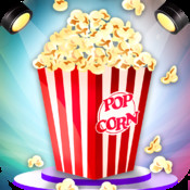 Pop The Corn - Free hot & fast food cooking chef game for kids, boys, girls & teens - For lovers of cupcakes, ice cream cakes, pancakes, hotdogs, pizzas, sandwiches, burgers, candies & ice pops