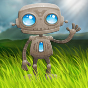 Aaron`s tiny robots world HD puzzle game for kids