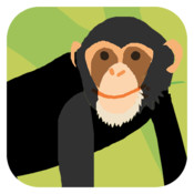 Animal Colours - Black (Interactive animal flashcards for babies and young kids) virtual animal
