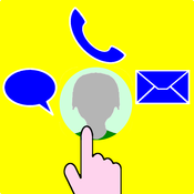 Call Express Plus - Quick and easy way to call, text or email your favorites!