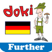 Learn German with Doki Further for iPad