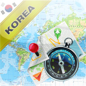 South Korea and North Korea - Offline Map & GPS Navigator north korea tourism