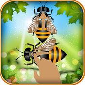 Swiped bee