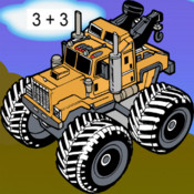 Monster Truck Math Free