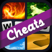 "Cheats for ""4 Pic 1 Word"" - with FREE auto game import"