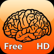 The Brain Trainer HD Free - Games for the development of memory, brain and intellectual abilities