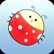 Brain Trainer with Ladybug: test brain age, memory and attention brain