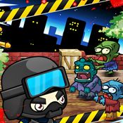 Cool Zombie VS Swat Game GS 1 :the police walking shooting zombie and boss