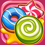 Match Donuts & Candies - Sweet Puzzle Game
