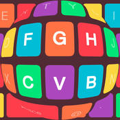 Unique keyboard Free - Color Keyboard design and backgrounds for iPhone, iPad, iPod