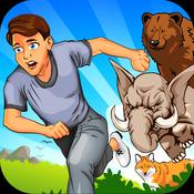 3D Animal Run Escape & Fun Race - my multiplayer jump-ing & running pet dash games for kids fun run multiplayer race