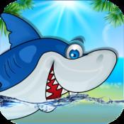 Shark Jump - Hungry Shark Run and Dash Eat Starfish Explorer and Adventure Fun Game