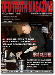 UFO TRUTH MAGAZINE - THE TRUTH IS ALREADY HERE da vinci code truth