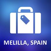 Melilla, Spain Offline Vector Map