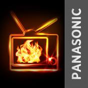 Fireplace for Panasonic Smart TV ipod tv