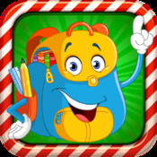 Preschool Kids Game : 7 Educational Learning English is Fun (Preschool math, abc, number, letter, Word, spelling, First Words, Sight Words)