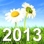 2013 Calendar HD 3d max2008 calendar