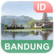 Bandung, Indonesia Offline Map