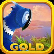 Escape From Rio Gold - Fun 3D Cartoon Game with Blue Birds