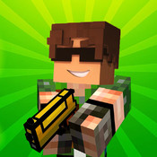 Minecraft Official Pocket Edition With Multiplayer For Minecraft PE And Mine Mini Game With Skin Exporter (PC Edition) And Seeds Pro Cube Adventure World