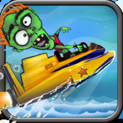 Zombie Jet Speed Boat: Free Multiplayer Fun with Friends - Fast Speed Racing Game for Kids racing speed