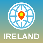 Ireland Map - Offline Map, POI, GPS, Directions