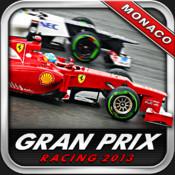 Monaco Grand Prix 2013 racing in f1 style appear button finish