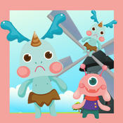 Cute Monster-s Gone Wild Kid-s and Baby Game-s To educate Your Child