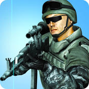 Modern Commando Shooter: Real Sniper on Frontline Borders in WW2 Kombat - World War to Crush the Rebels