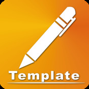 Template Collection for Pages template receipt