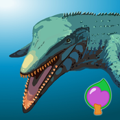 Interesting expedition series of dinosaur world with baby dino Coco:Exciting plesiosaurs world – dinosaur game for jr