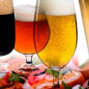 Øl og mad