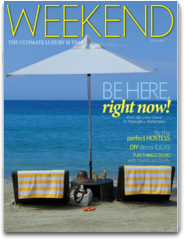 Weekend Magazine country magazine