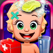 Baby Doctor Salon Spa Free - Kids Makeover Games for Girls & Boys