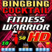 BINGBING Cocktail Fitness Warrior