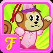 Chimp Princess Pony Fairy Fashion Flight
