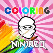 Coloring Kids Game for Lego Ninjago Version pages