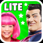 LazyTown`s Adventures LITE – Video & Audio Storybook, Puzzle Games, Coloring Pages, Photo-Booth, Music Videos, Training Videos and Cooking Recipes