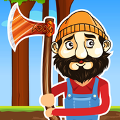 Timber Jack - Lumber Man Axes Wood!