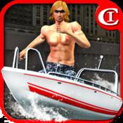 Crazy Boat Parking King 3D HD