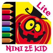 Color Halloween Lite - Coloring exercises for kids