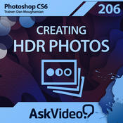 AV for Photoshop CS6 206 - Creating HDR Photos mapping
