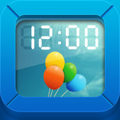 InstaClock Free Version -Digital photo clock-