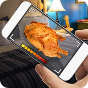 Food Radar Camera Prank food database