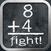 A 3D Math Flash Battle Arena ~ math flash cards and math drills app for kids