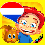 Dutch for kids: play, learn and discover the world - children learn a language through play activities: fun quizzes, flash card games and puzzles