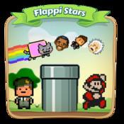 Flappy Stars.Flappi Stars christmas stars