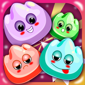 Gummy Jam Match Mania - Chewy Candy Drop Puzzle Game