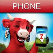 Koeien Letters voor iPhone - Flemish